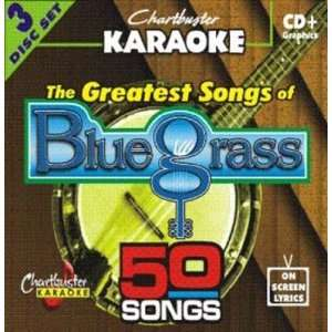 Chartbuster Karaoke CDG 3 Disc Pack CB5027   The Greatest Songs