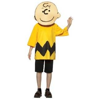 Peanuts Comics Charlie Brown Lucy Blue Dress Child Costume: Clothing