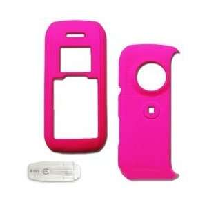 LG Env VX9900 Cell Phone Hot Pink Texture/Rubber