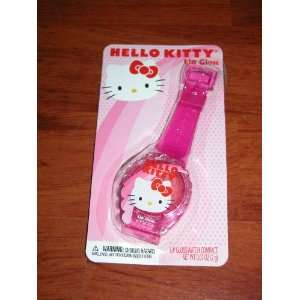 Hello Kitty Lip Gloss Watch Beauty