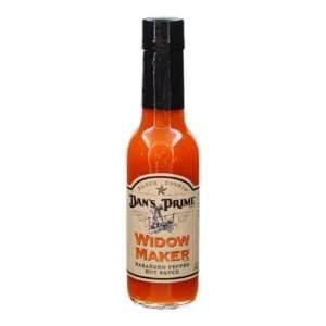 Dans Prime Widow Maker Habanero Hot Sauce (Pack of 12):