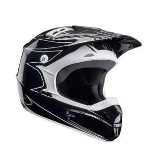 Mens V 1 Off Road Motorcycle Helmet   Color Black, Size X Small
