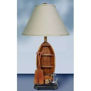 Tempo Lighting Boat w/ Paddles Table Lamp