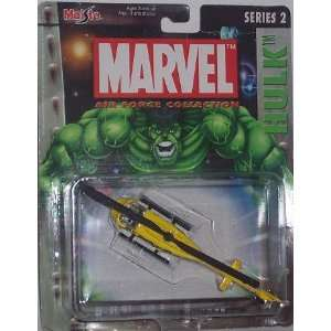 Maisto Ultimate Marvel Air Force Hulk Bell Th 57 Sea