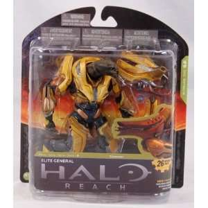 Halo Reach McFarlane Toys Series 4 Action Figure Elite General  Toys