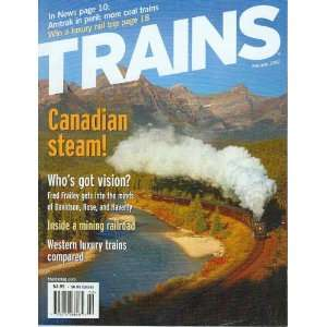 Trains Magazine   February, 2002: multiple: Books