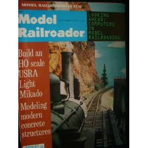 Model Railroader Magazine (September, 1977) Staff Books