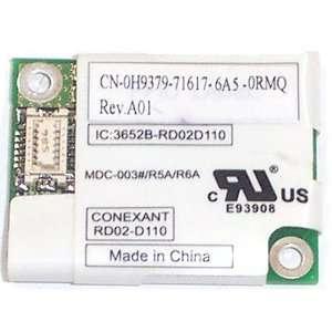 Dell Latitude D620 56K modem daughter card   H9379