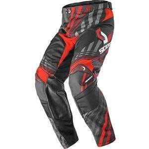 Scott Youth 250 Series Pants   24/Black/Red Automotive