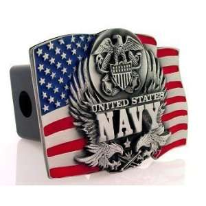 Navy Midshipmen Trailer Hitch Cover   NCAA College