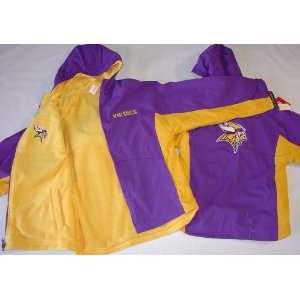 NFL Minnesota Vikings NFL Youth Reversible Hooded Jacket
