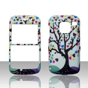 Multihearts Tree Nokia Straight Talk E5 3G Smart Phone Case Cover Hard