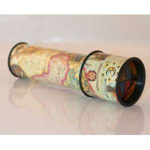 too This kaleidoscope brings the idea of the old, a childrens toy