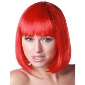 Red Short Bob Wig  Toys & Games