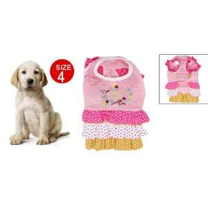 Como One piece Mesh Dress Skirt Petticoat for Pet Dog