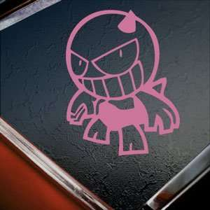 DEVIL SUMO SPORT Pink Decal Car Truck Window Pink Sticker