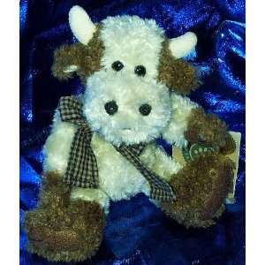 Boyds Bears & Freinds Ernestine Vanderhoof 7 Plush Cow: Toys & Games