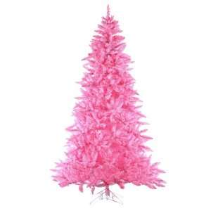 Pre Lit Designer Pink Ashley Spruce Artificial Christmas Tree