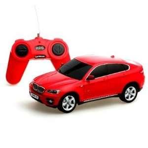 124 Scale BMW X6 RED Radio Remote Control Car Toys & Games