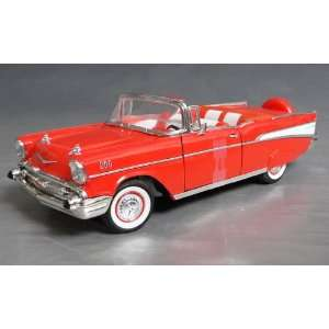 Spec Cast 1957 Chevrolet Bel Air Convertible 125 Scale Toys & Games