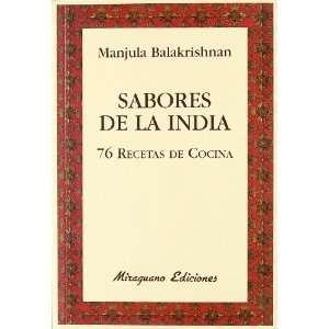 Sabores de la India. 76 recetas de cocina (9788478133727