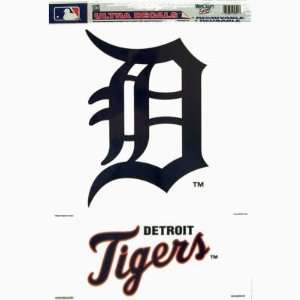 DETROIT TIGERS REMOVABLE CAR TRUCK WINDOW WALL DECAL SET (2)