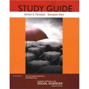 Study Guide for Research Methods in the Social Sciences