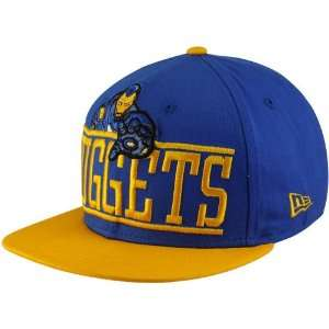 New Era Denver Nuggets Royal Blue Gold Marvel Iron Man