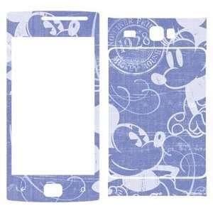 Minnie Lavender Love Vinyl Skin for Samsung Focus Flash Electronics