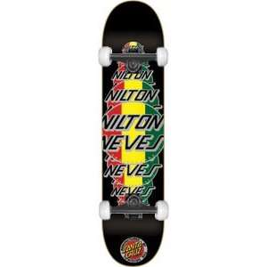 Santa Cruz Neves Logo Complete Skateboard   7.7 w/Mini