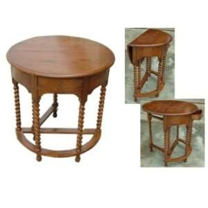 Gateleg Side Table:  Home & Kitchen