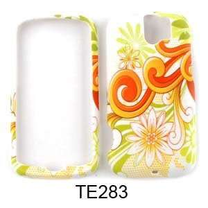 HTC My Touch 3G Slide Flowers on White Hard Case/Cover