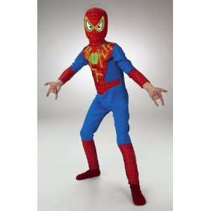 Spider Man Glow in the Dark Costume Boys Size 7 8 Toys & Games