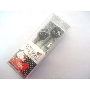 Sweet gift Hello Kitty Purple Earphone headphone For Apple