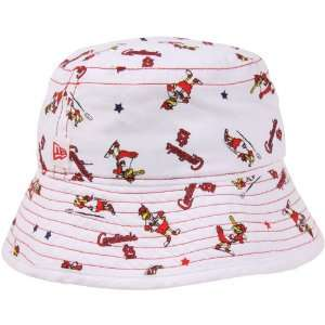 Era St. Louis Cardinals Infant Bucket Hat   White: Sports & Outdoors