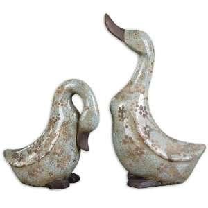 Uttermost Citrita Ducks Statues & Sculptures Home & Kitchen