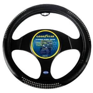 Goodyear GY SWC319 Black Steering Wheel Cover Automotive