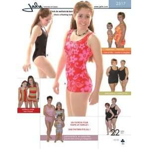 Jalie Boy Leg Leotard/Swimsuit Pattern By The Each Arts