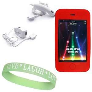 Car Charger + Live*Laugh*Love Wrist Band  Players & Accessories