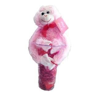 Valentines Day Gift Basket   Make Her Smile Teddy Bear, Vase, Candy
