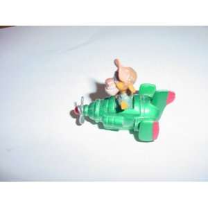 McDonalds Wildcats Flying Machine Happy Meal Toy