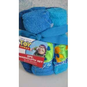 Toy Story 6 Pack Washcloth Set