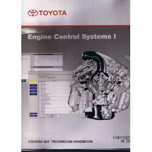 Toyota Engine Control Systems I, Course 852 Technician