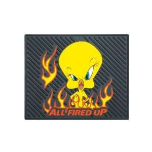 Rubber Floor Mat   Looney Tunes Tweety Bird All Fired Up Automotive
