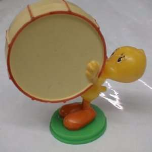 Plasticc Figure : Looney Tunes Tweety Bird with Drum: Toys & Games