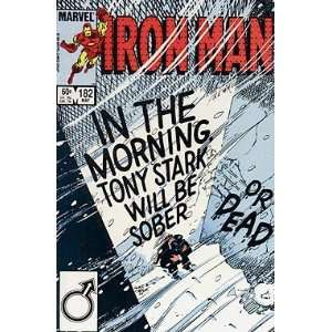 Iron Man (Vol. 1), Edition# 182 Marvel Books