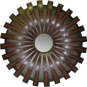Metal Wall Mirror Decor