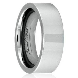 Carbide Polished Wedding Band Ring (Size 6) Eternal Bond Jewelry