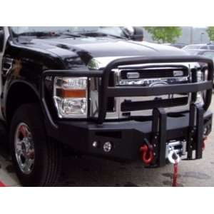 Winch Bumper Front With Full Grill Guard 2008 Ford F250, F350, F450