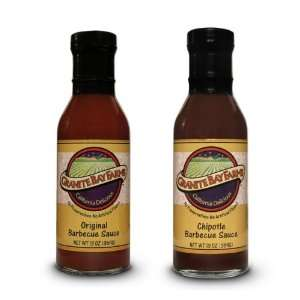 Granite Bay Farms Original Barbecue Sauce and Chipotle Barbecue Sauce